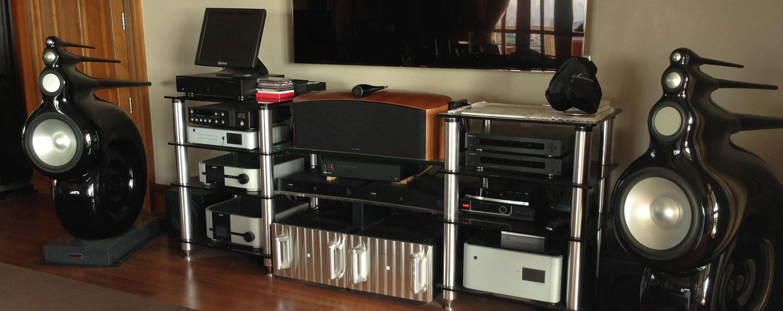 Home Theatre installation in Mumbai